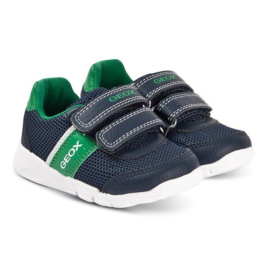 Geox Runner Sneakers Navy/Green Navy/green