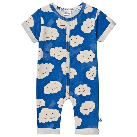 Noe & Zoe Berlin Relaxed One-Piece Blue Clouds BLUE CLOUDS