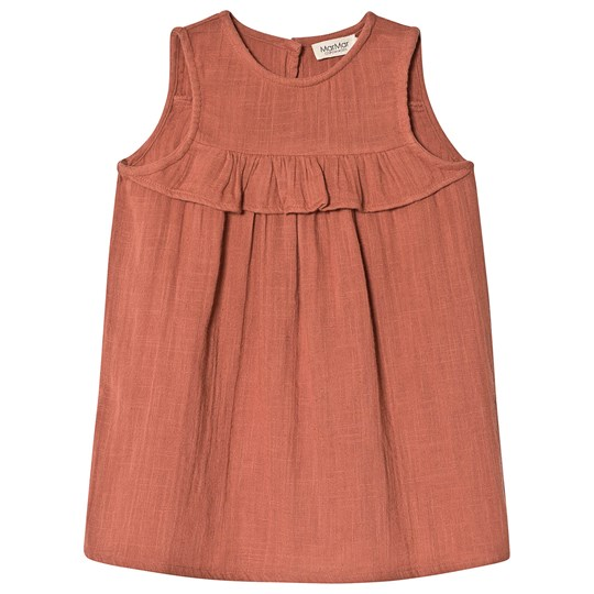 MarMar Copenhagen Drine Dress Dusty Brick DUSTY BRICK