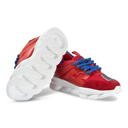 Versace - Chain Reaction Sneakers Red