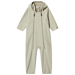 Kuling Livigno Windfleece Coverall Oyster Green