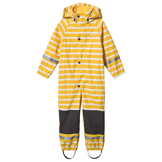 Kuling Douglas Lined Rain Coverall Sunshine Yellow Stripe