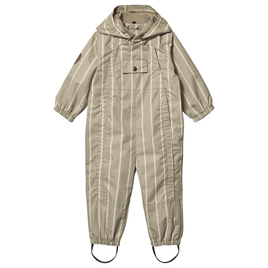 Kuling Milano Shell Coverall Sandy Beige Stripe