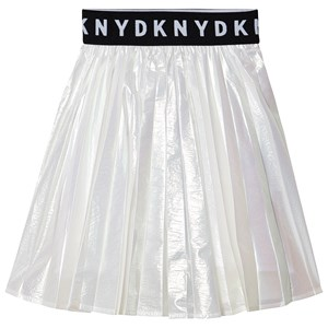 Image of DKNY Iridescent Logo Skirt Silver 10 years (1541704)
