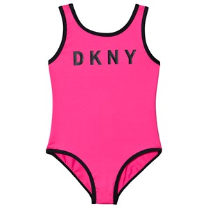 Image of DKNY Logo Swimsuit Pink 16 years (1541773)