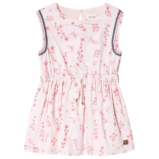 Carrément Beau Floral Print Dress Pale Pink 45S