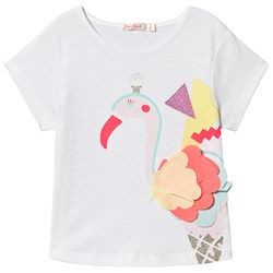 Billieblush Ice Cream Flamingo T-Shirt Vit