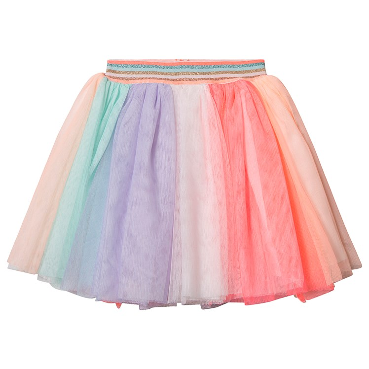 Billieblush Stripete Tyll Skjørt Multicolor Babyshop.no