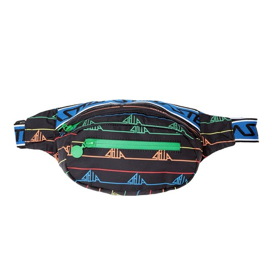 Stella McCartney Kids Graphic Sports Waist Bag Black 1095