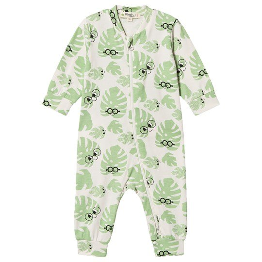 The Bonnie Mob Leaf Brittany One-Piece Off White Leaf