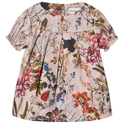 Christina Rohde Floral Baby Dress Pale Rose