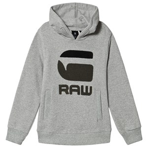 Image of G-STAR RAW Chenille G-Star Logo Hættetrøje Grå 8 years (1498482)