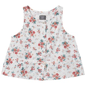 Image of Tocoto Vintage Blomster Top Off Hvid 10 Years (1550570)