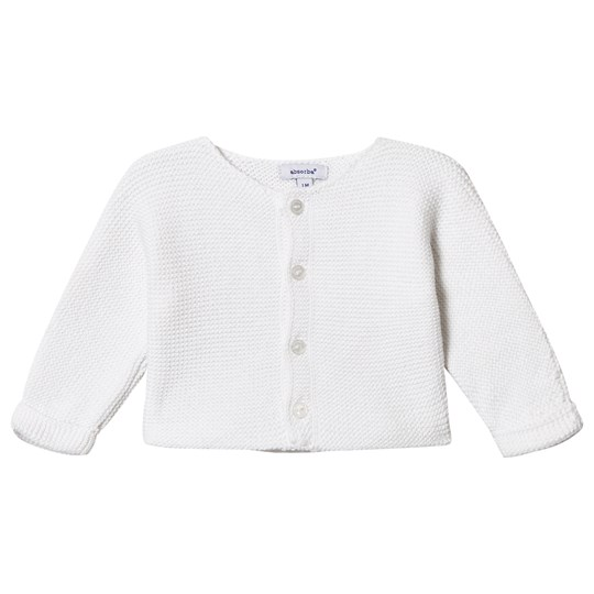 Absorba Knitted Cardigan White 01