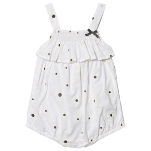 Image of Absorba Daisy Print Romper Hvid 6 months (1538533)