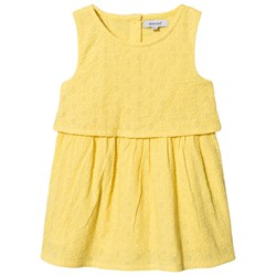 Absorba Broderie Anglaise Dress Yellow