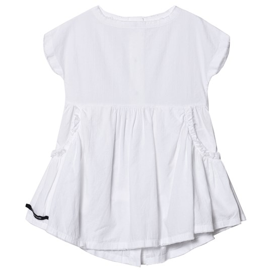Little Creative Factory Crushed Cotton Dress White White