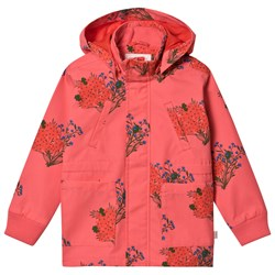Tinycottons Flowers Jacket Light Red/Red