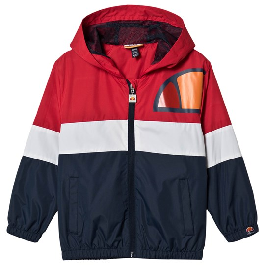 Ellesse Jirois Track Jacket Red/Navy Red