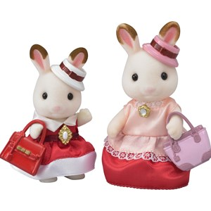 Image of Sylvanian Families Town Series - Dress Up Duo Sæt 4 - 8 years (1181010)