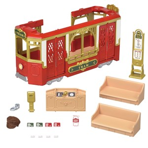 Image of Sylvanian Families Ride Along Tram Sæt 4 - 8 years (1104363)