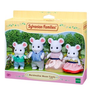 Image of Sylvanian Families Marshmallow Mouse Familie 3 - 10 years (1298563)