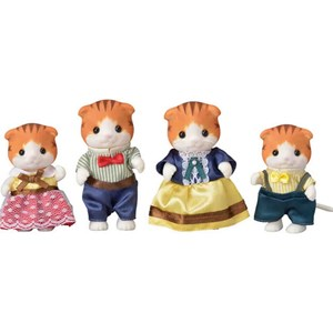 Image of Sylvanian Families Maple Kat Familie 3 - 10 years (1068187)