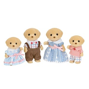 Image of Sylvanian Families Yellow Labrador Familie 3 - 10 years (1211713)