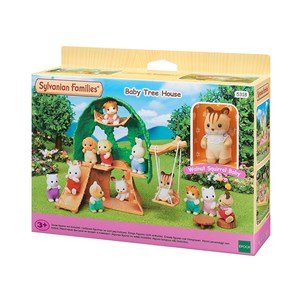 Image of Sylvanian Families Baby Tree House 3 - 12 år (1357963)
