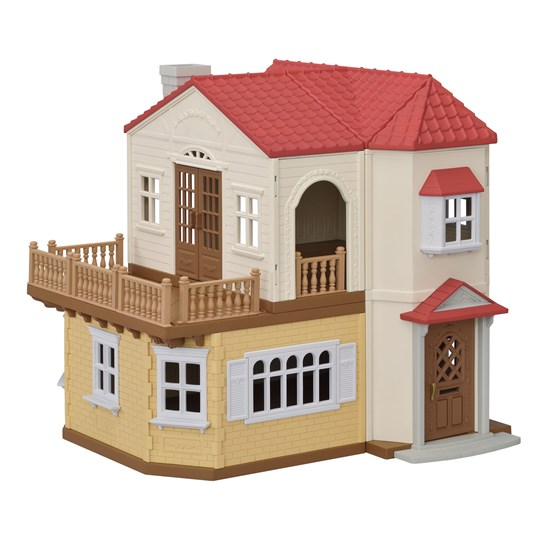 Sylvanian Families Red Roof Country Home Beige