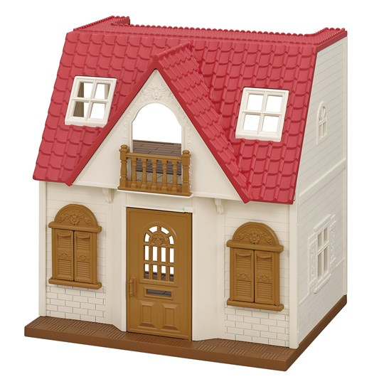 Sylvanian Families Red Roof Cosy Cottage Beige