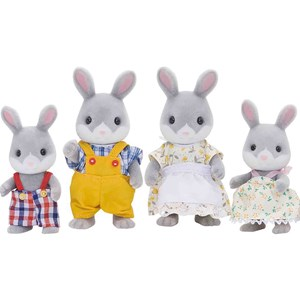 Image of Sylvanian Families Cottontail Kanin Familie One Size (988225)