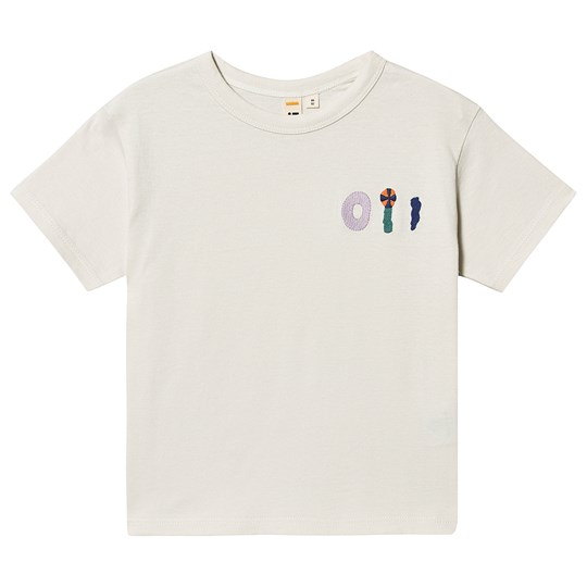 Oii Embroidery T-Shirt Tofu