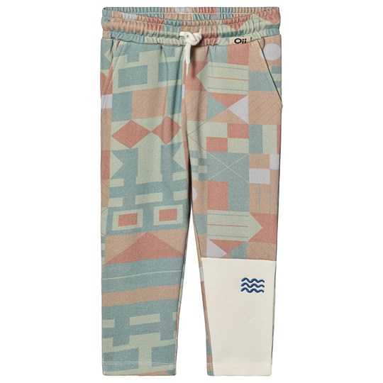 Oii Kalle Sweatpants Tofu/Pale Flag