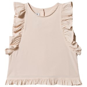 Image of How To Kiss A Frog Bomuld Ruffle Ærme Moi Tank Top i Pink 4 år (1528653)