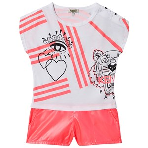 Image of Kenzo Cali Party Romper Neonpink 10 years (1549336)
