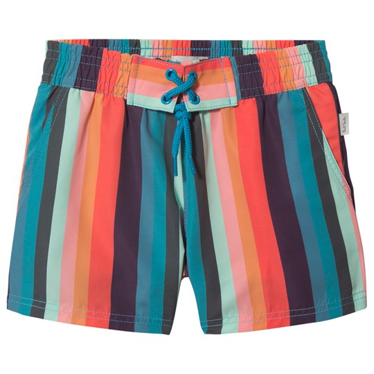 Paul Smith Junior Multi Stripe Swim Shorts 920