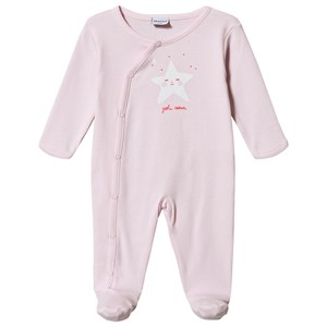 Image of Absorba Stjerne Print Footed Baby Body Pink 6 months (1538267)