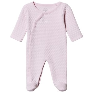 Image of Absorba Quilted Footed Baby Body Pink 12 months (1538288)