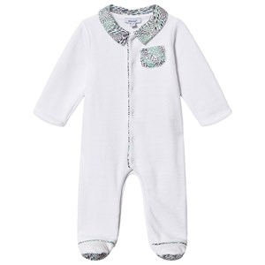 Image of Absorba Liberty Print Velour Footed Baby Body Hvid 12 months (1538492)