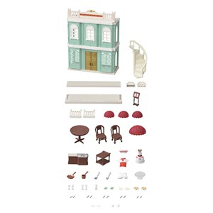 Image of Sylvanian Families Delicious Restaurant Sæt 4 - 8 years (1104319)