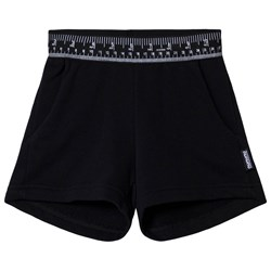 NUNUNU Measuring Band Gym Shorts Black