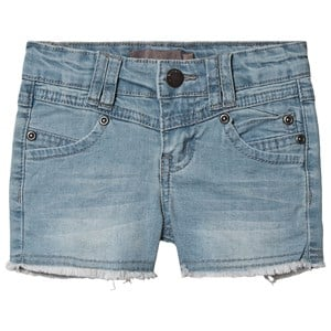 Image of Creamie Denim Short Blåt 104 cm (3-4 år) (1507645)