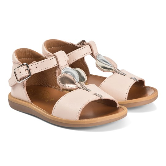 Pom Dapi Poppy Balloon Sandals Nude Light Pink