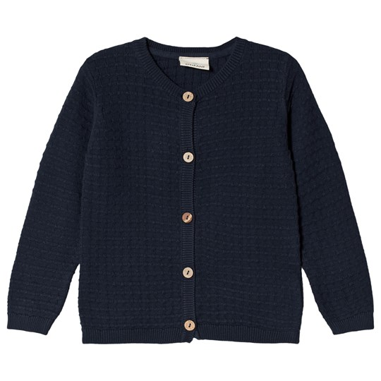 EnFant Knit Cardigan Dark Navy Dark Navy