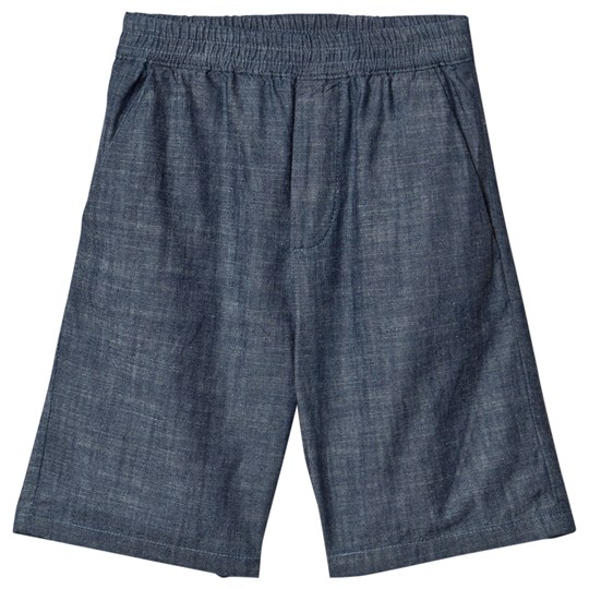 Bonpoint Shorts Blue Chambray 015