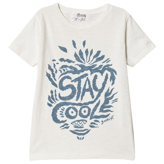Bonpoint ´Saty Cool´ Graphic T-shirt Hvid 103A