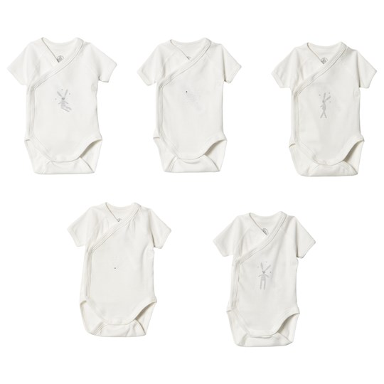 5 Pack Rabbit Wrap Bodies White
