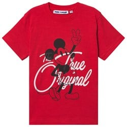 Fabric Flavours Mickey Mouse True Original Tee Red