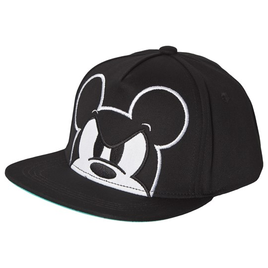 Fabric Flavours Mickey Mouse Cap Black Black